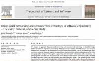 ترجمه مقاله : Using social networking and semantic web technology in software engineering ...