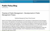 ترجمه مقاله انگلیسی  Theories of Public Management – Developments in Public